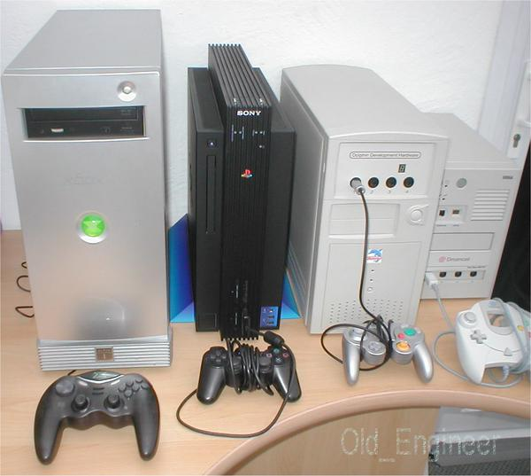 Kits de desarrollo de xbox, ps2, Gamecube y Dreamcast